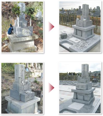 墓地の場所を移転したい