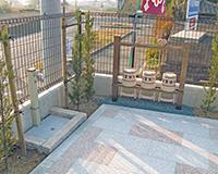 4箇所の水汲み場を設置02
