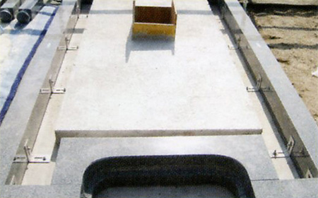 2.コンクリート打ち