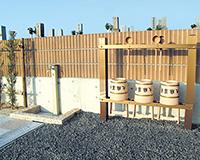 4箇所の水汲み場を設置01